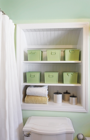 Bathroom Niche Shelves
